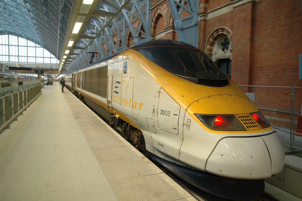 Eurostar at St Pancras